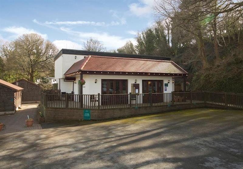 Reception at Manleigh Park in Combe Martin, Devon