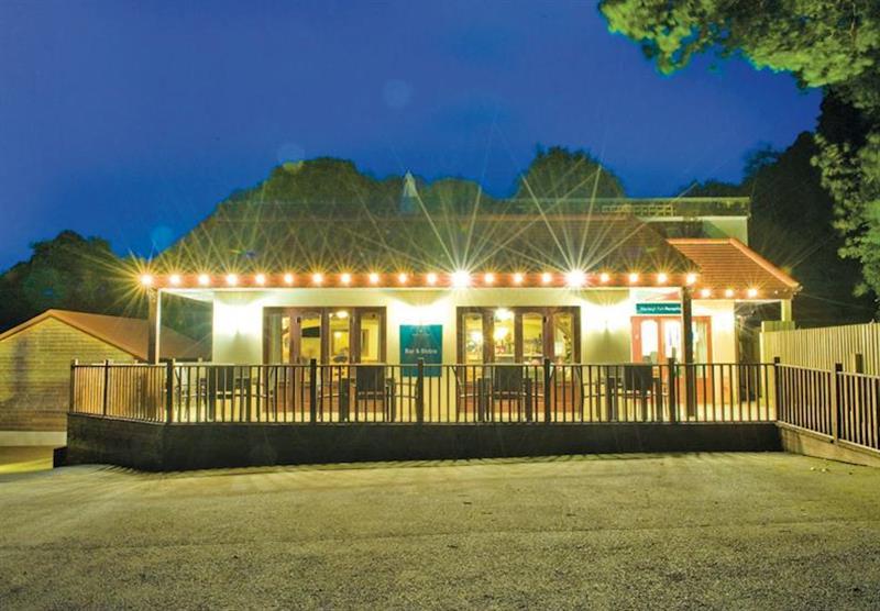 Restaurant at Manleigh Park in Combe Martin, Devon