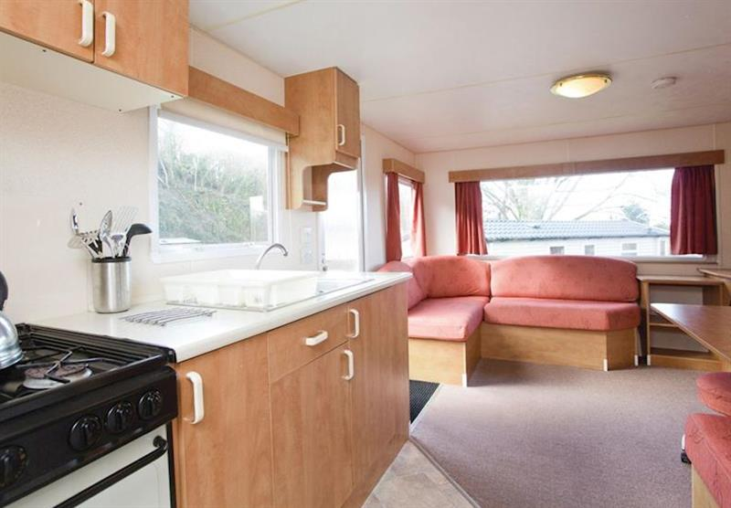 Standard Caravan (photo number 12) at Manleigh Park in Combe Martin, Devon