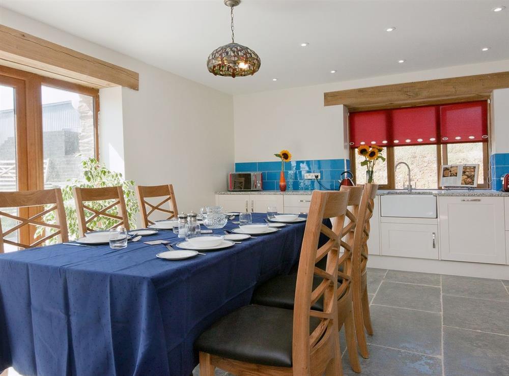 Kitchen/diner at Manor Barn in Blackawton, Devon