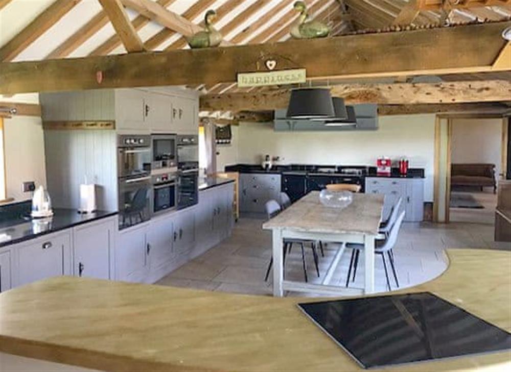 Kitchen/diner at Manor Farm Barn in Pixey Green, near Eye, Suffolk