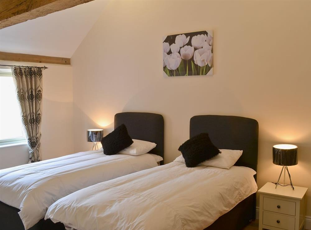Twin bedroom at Stags Rest,