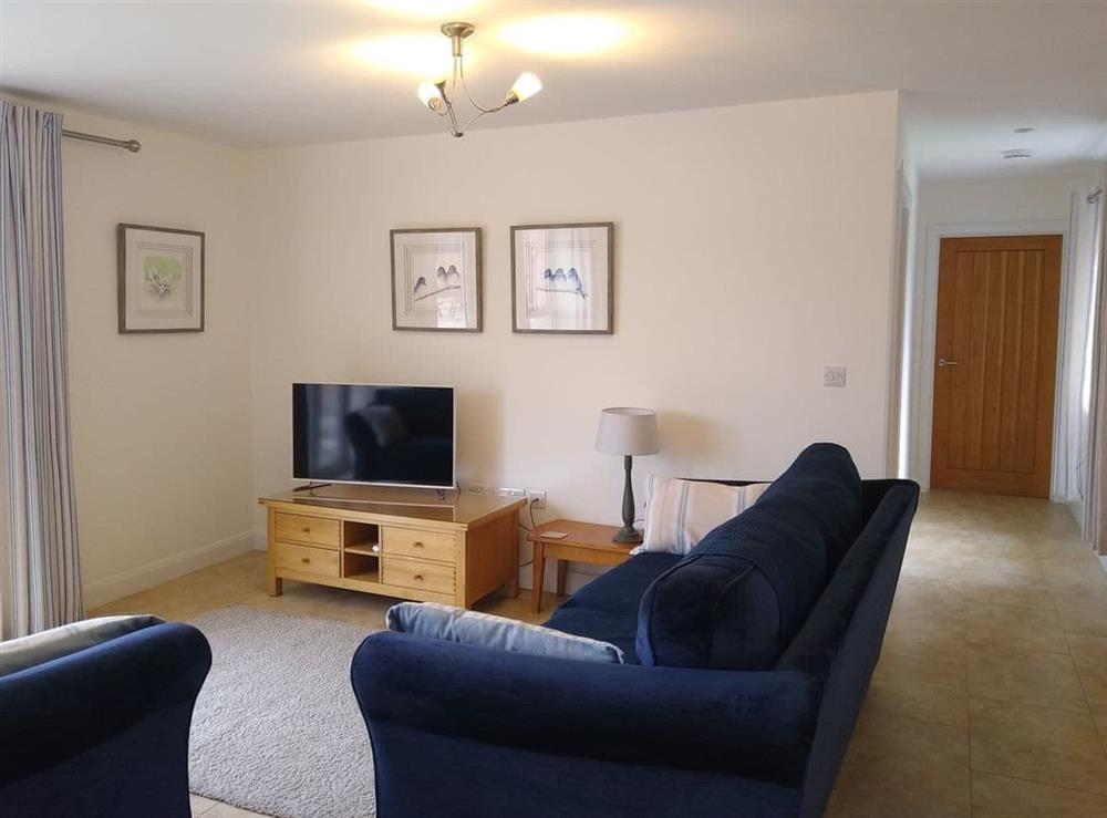 Living area at Manor Farm Cottage in Hampton in Arden, West Midlands