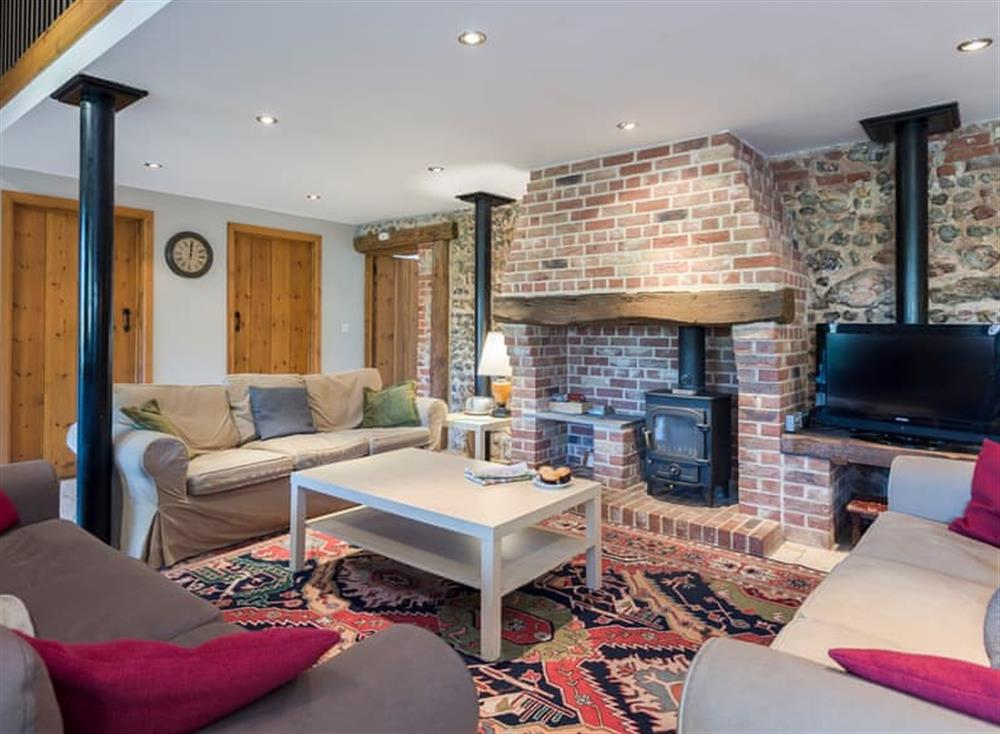 Comfortable living area at The Henhouse,