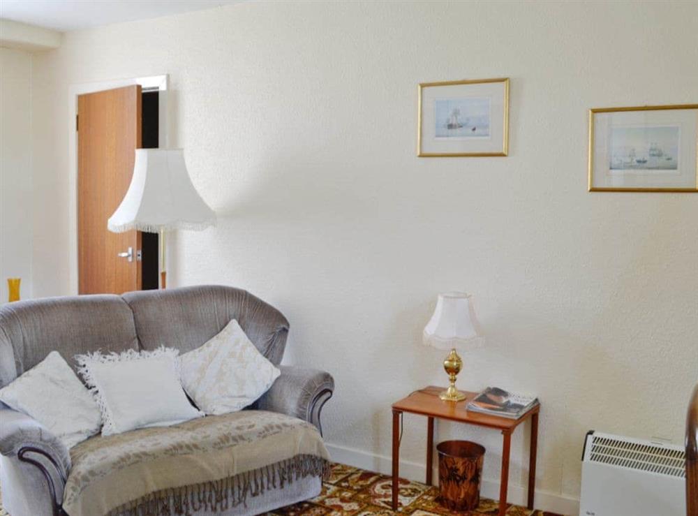 Living room at Glenfiddich,