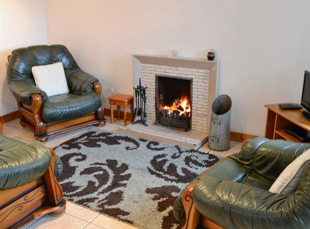 Living area at Manse Cottage in Sandhead, near Stranraer, Dumfries & Galloway, Wigtownshire