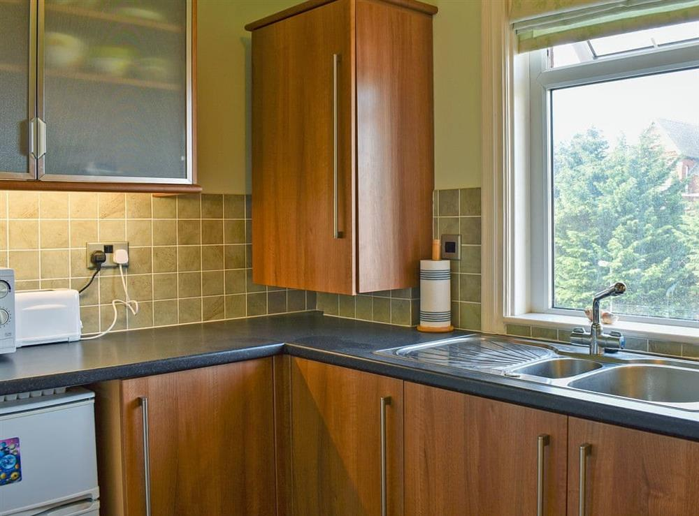 Kitchen at Marine Lake Apartment in Southport, Merseyside