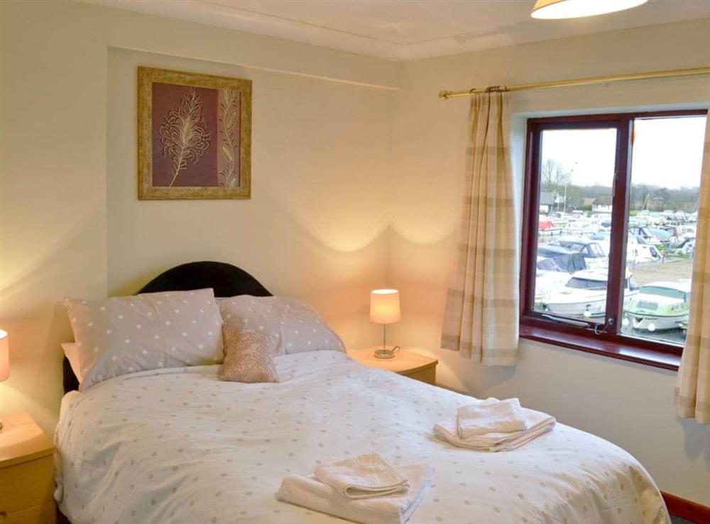 Double bedroom at Marine Vista in Horning, Norfolk