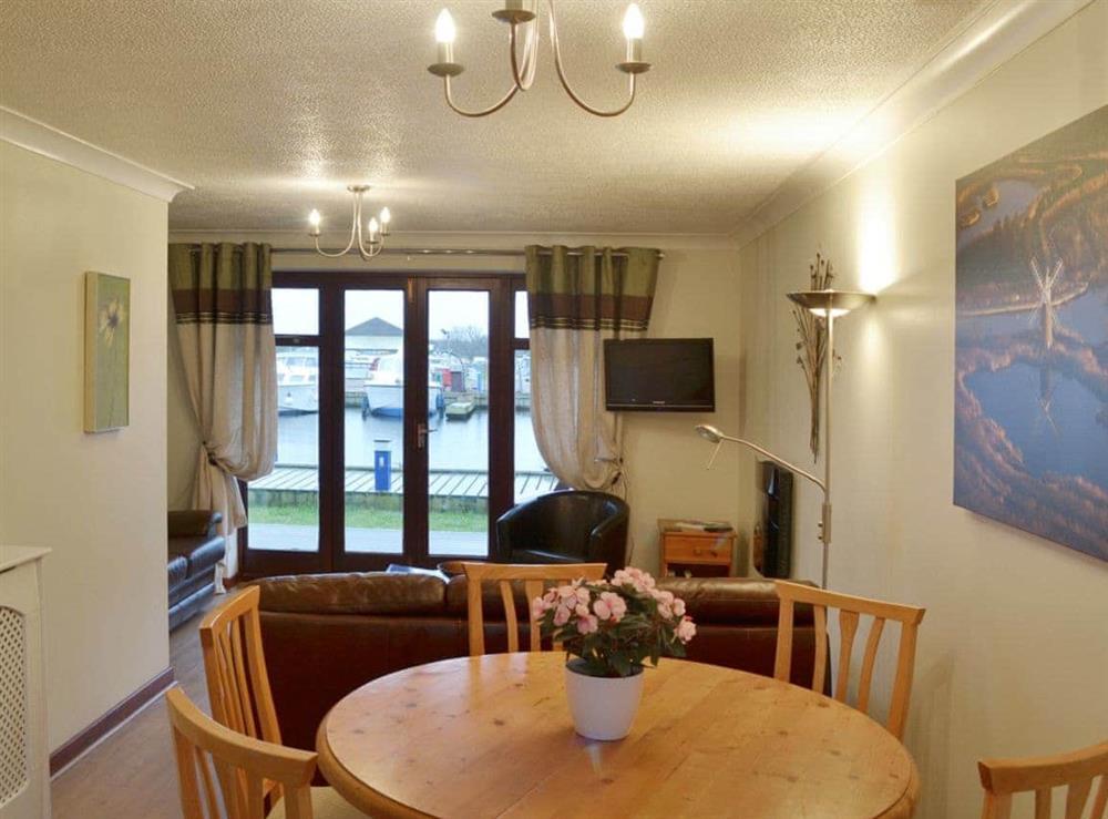 Open plan living/dining room/kitchen at Marine Vista in Horning, Norfolk