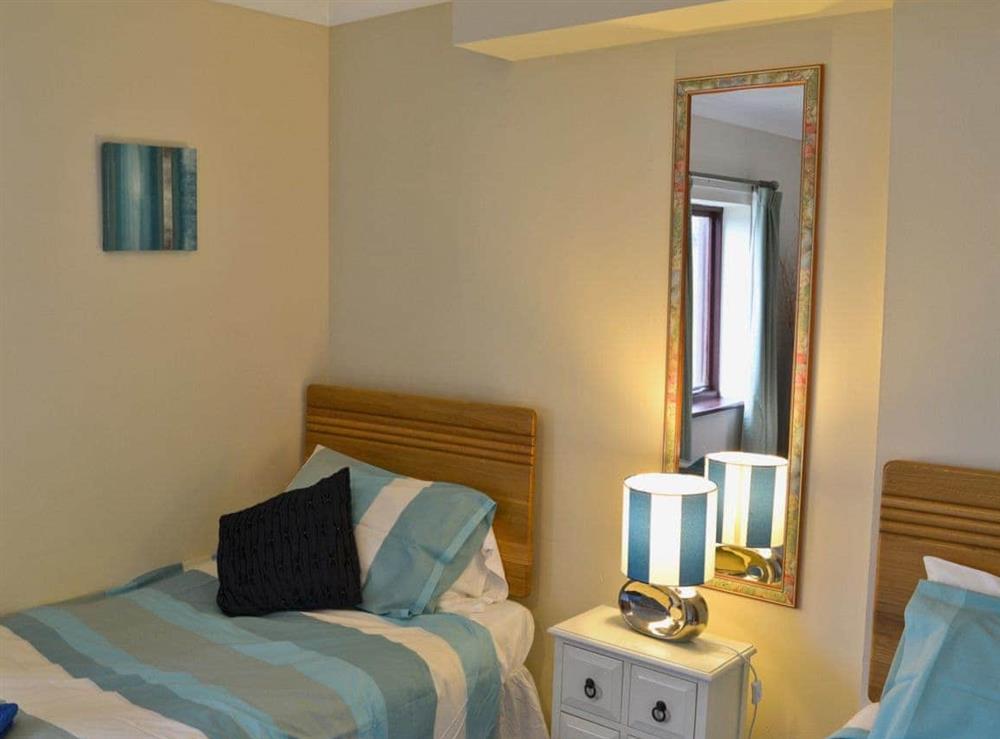 Twin bedroom at Marine Vista in Horning, Norfolk
