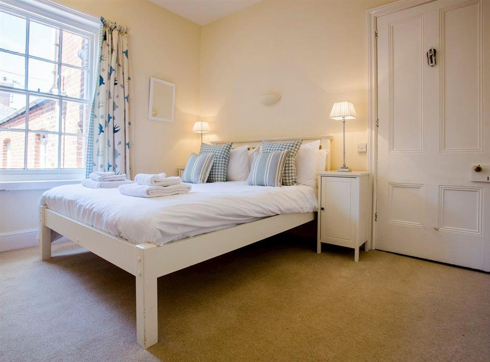 Relaxing second double bedroom at Market Cross Place in Aldeburgh, Suffolk