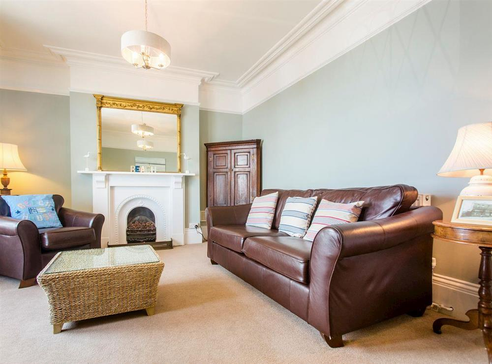 Spacious living room at Market Cross Place in Aldeburgh, Suffolk