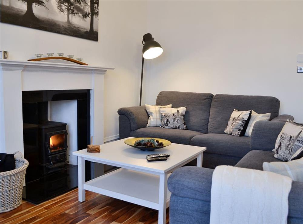 Living area at Market Square in Stonehaven, Aberdeenshire