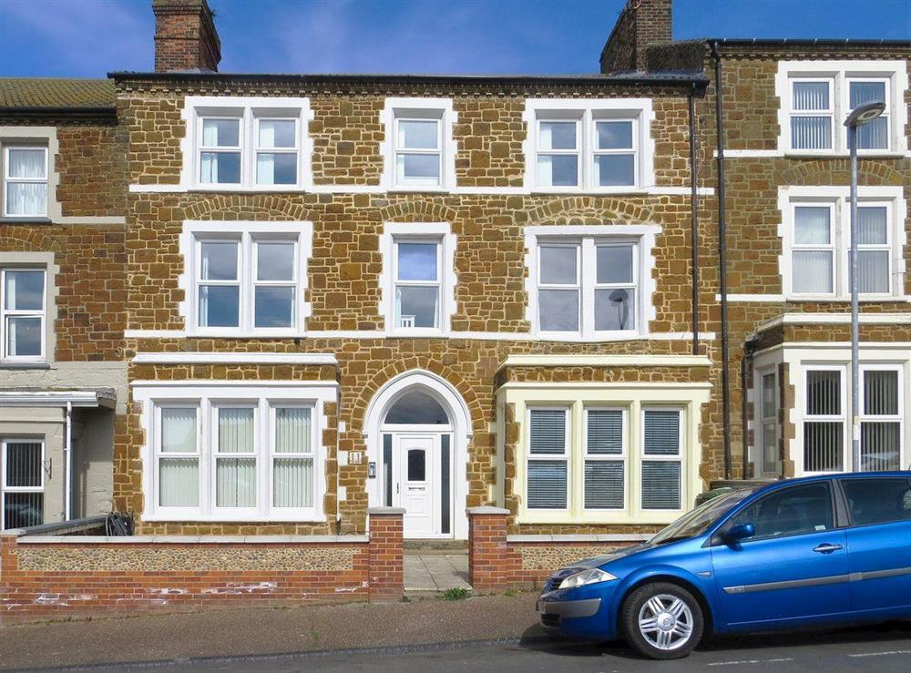 Spacious first floor accommodation situated within a Victorian house at Marlborough Apartment in Hunstanton, Norfolk