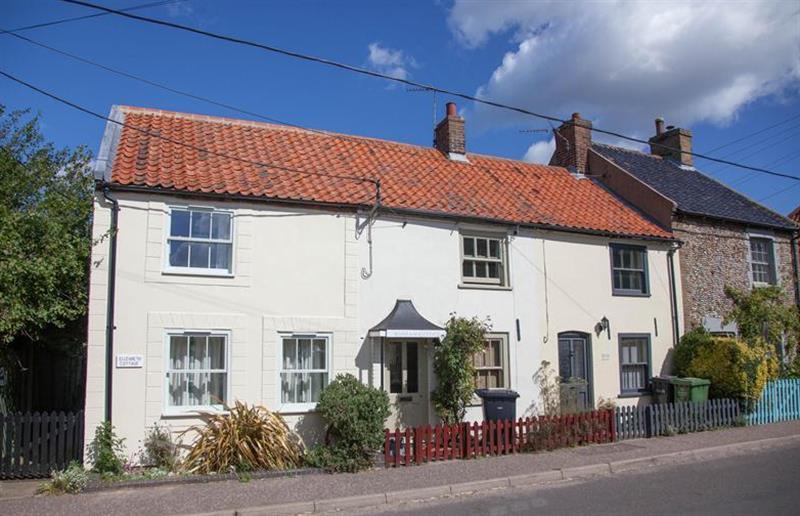 Outside Marram Cottage at Marram Cottage, Brancaster Staithe near Kings Lynn, Norfolk