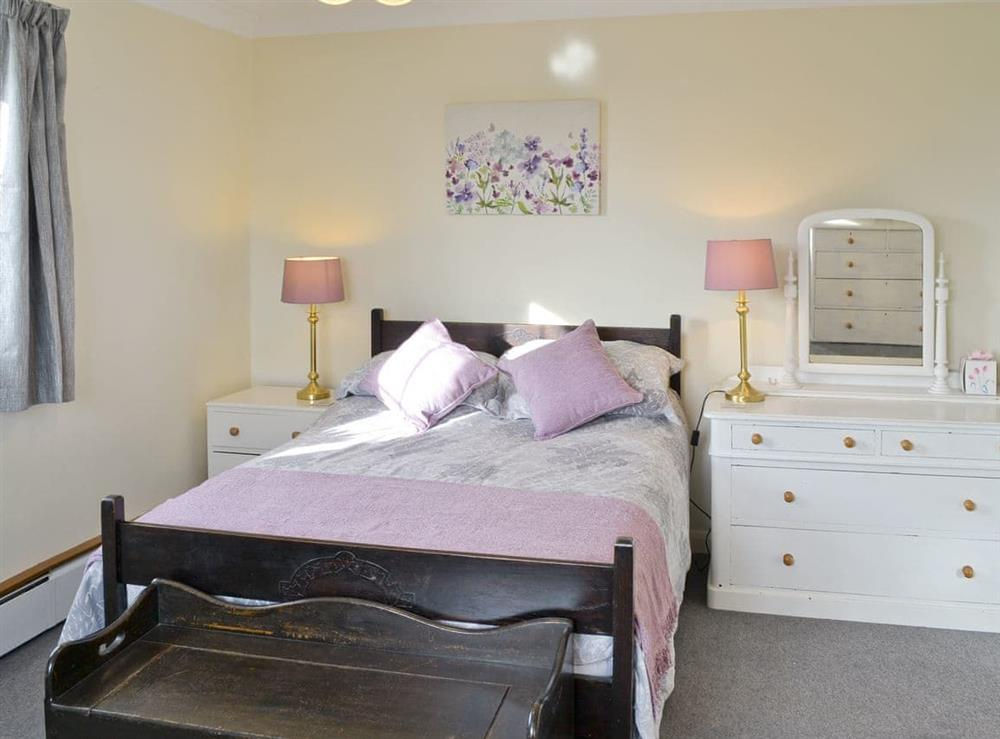 Large master bedroom at Marsh Farmhouse in Acle, Norwich, Norfolk