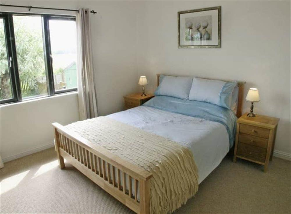 Double bedroom at Ferry Cottage,