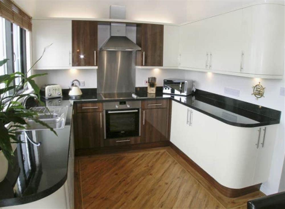 Kitchen at Ferry Cottage,