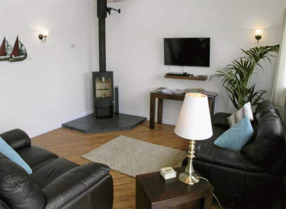 Living room at Ferry Cottage,
