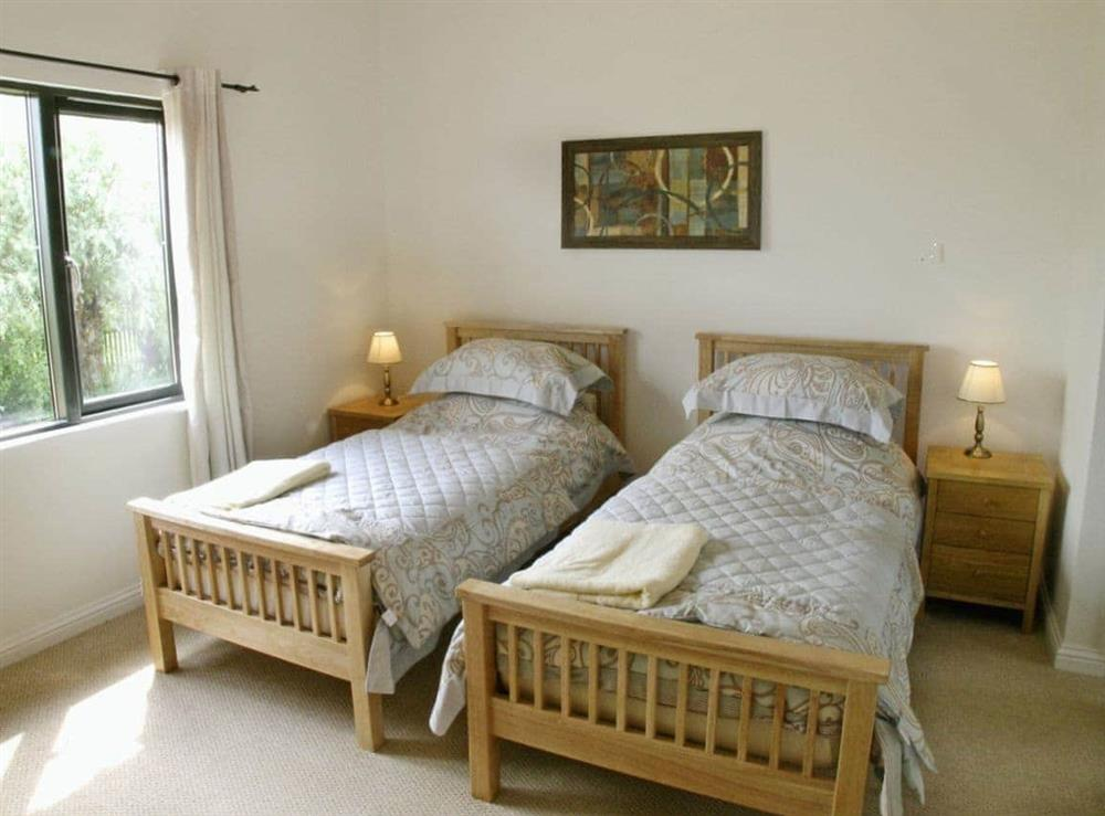 Twin bedroom at Ferry Cottage,