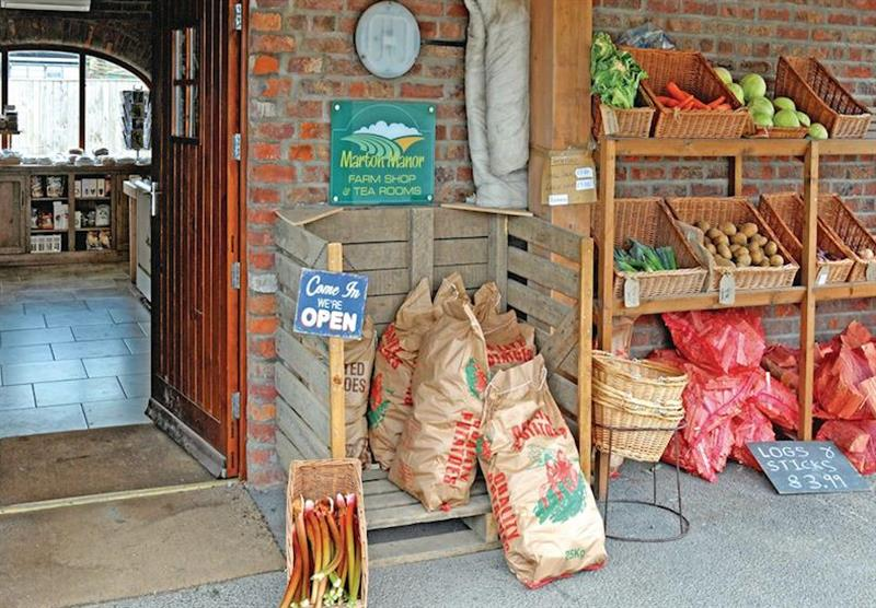 Farm Shop at Marton Manor Cottages in Sewerby, Bridlington, Yorkshire