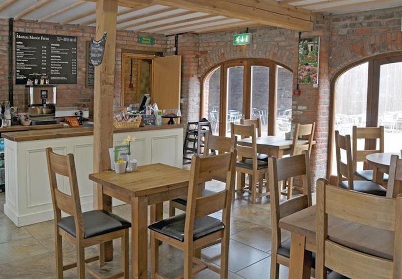 Tea rooms at Marton Manor Cottages in Sewerby, Bridlington, Yorkshire