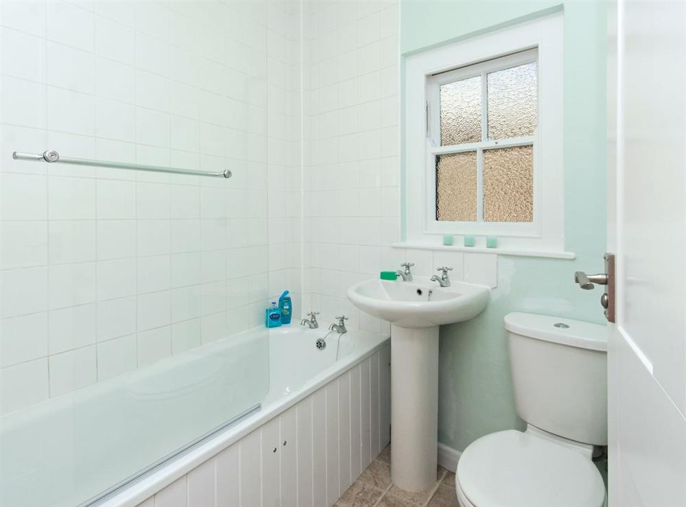 Bathroom at Marymede in Dartmouth, Devon