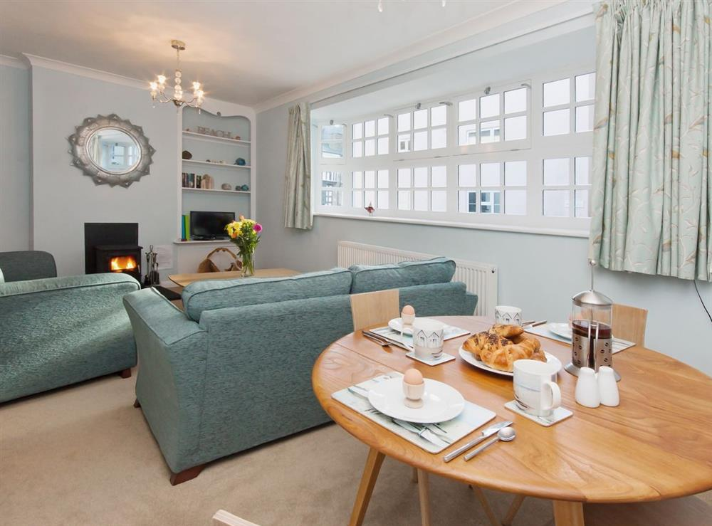 Dining Area at Marymede in Dartmouth, Devon