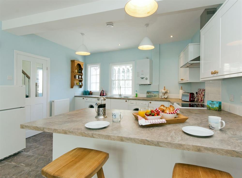 Kitchen at Marymede in Dartmouth, Devon