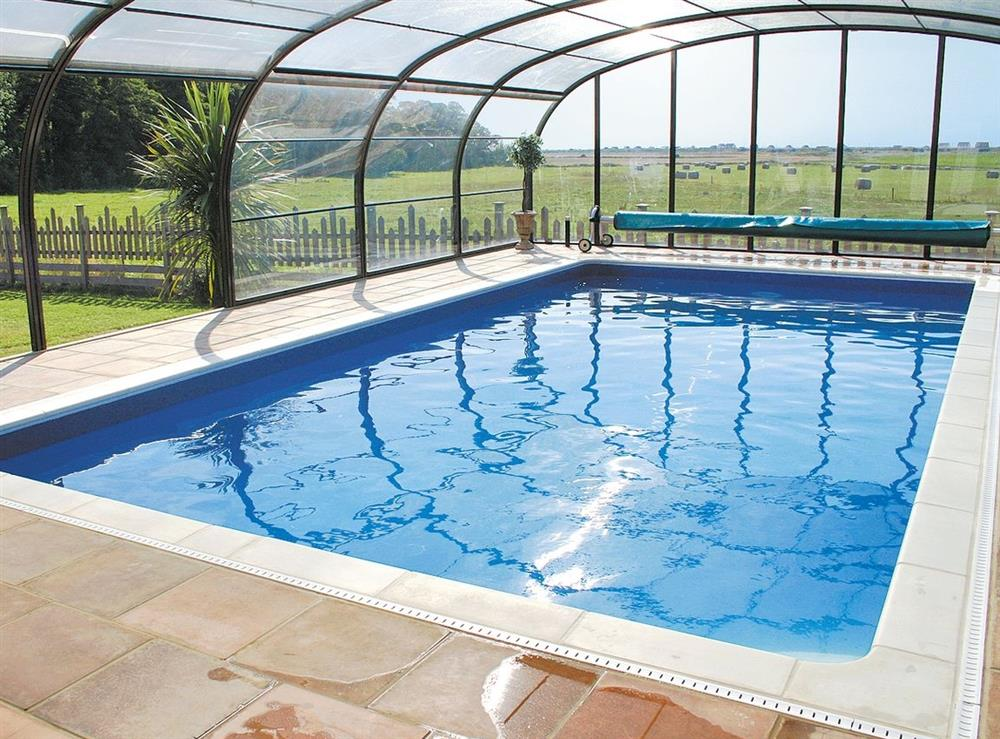 Swimming pool at Matai Country House in Heacham, Norfolk