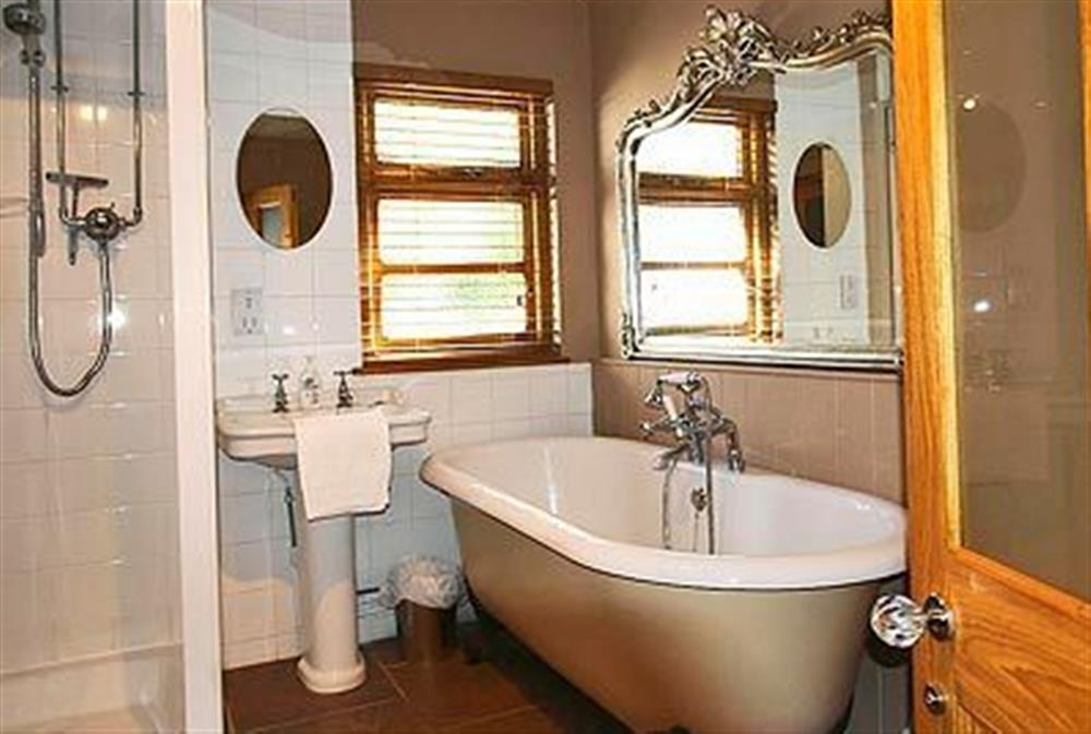 Bathroom at May Cottage in Bacton, Nr North Walsham, Norfolk., Great Britain