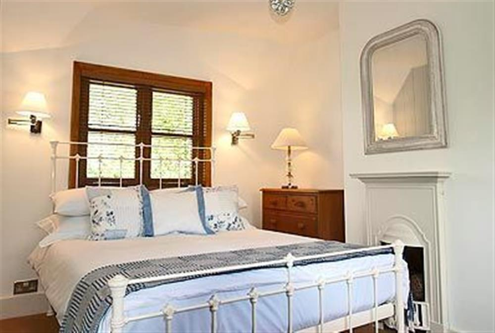 Double bedroom at May Cottage in Bacton, Nr North Walsham, Norfolk., Great Britain