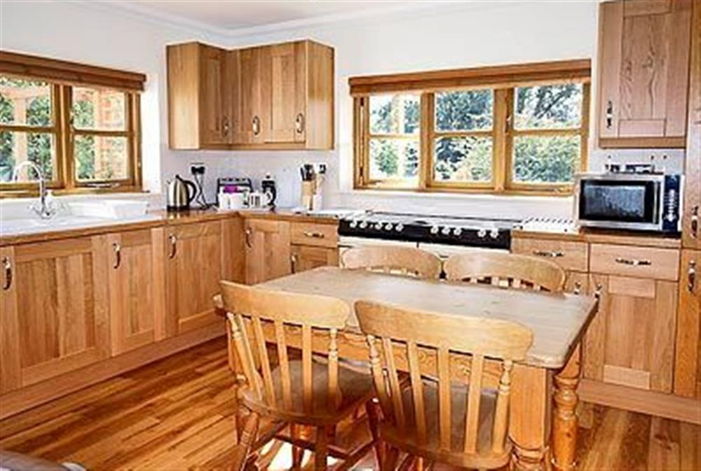 The kitchen at May Cottage in Bacton, Nr North Walsham, Norfolk., Great Britain