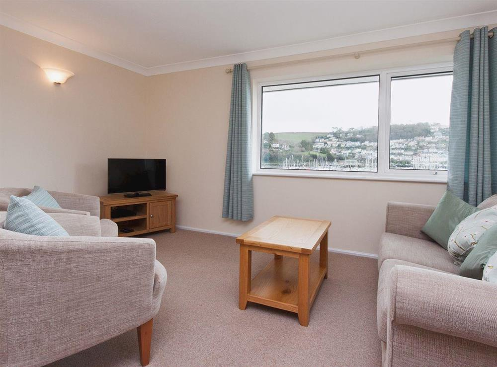 Living room/dining room at Mayflower Court 10 in Dartmouth, Devon