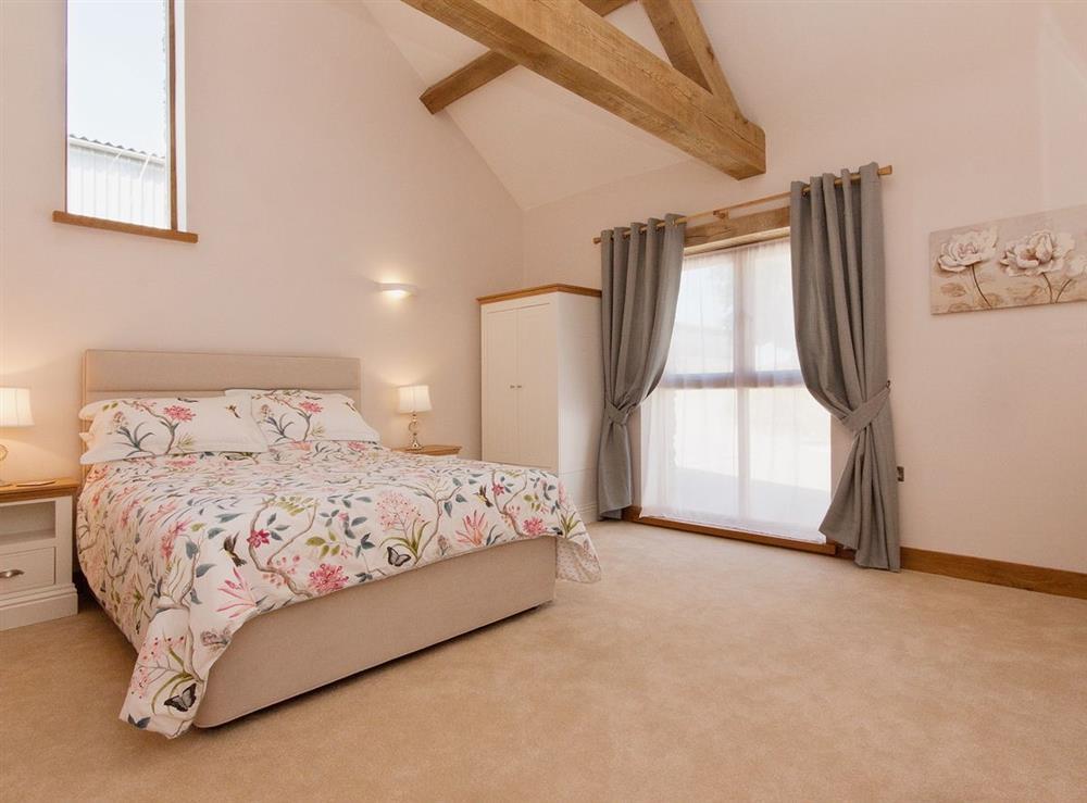 Double bedroom at Meadow Barn in Blackawton, Devon