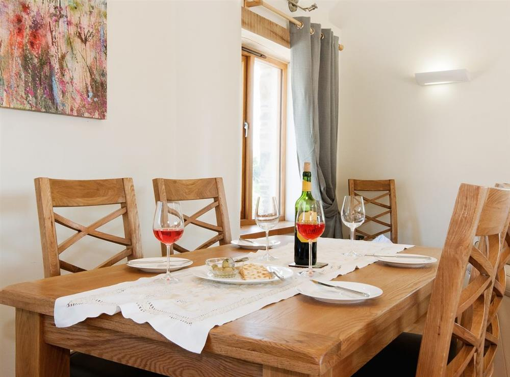 Kitchen/diner at Meadow Barn in Blackawton, Devon