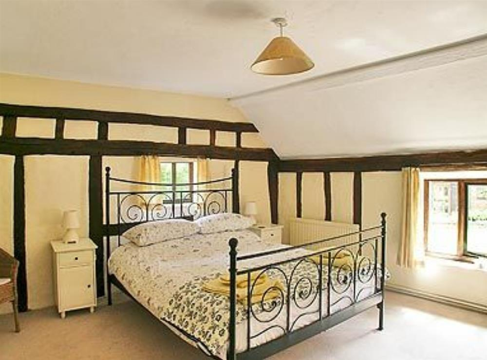 Double bedroom at Meadow Cottage in Linstead Parva, near Southwold, Suffolk