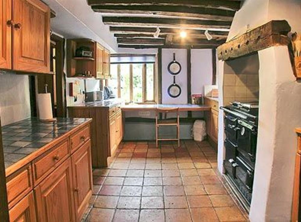 Kitchen at Meadow Cottage in Linstead Parva, near Southwold, Suffolk