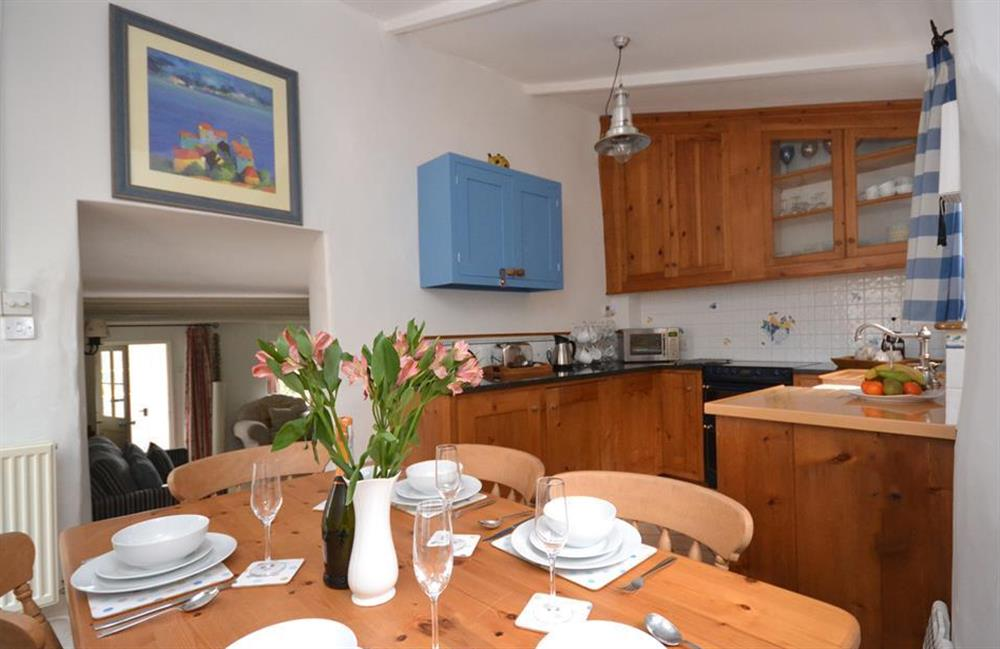 Another view of the dining kitchen at Meadow View Cottage, Dittisham