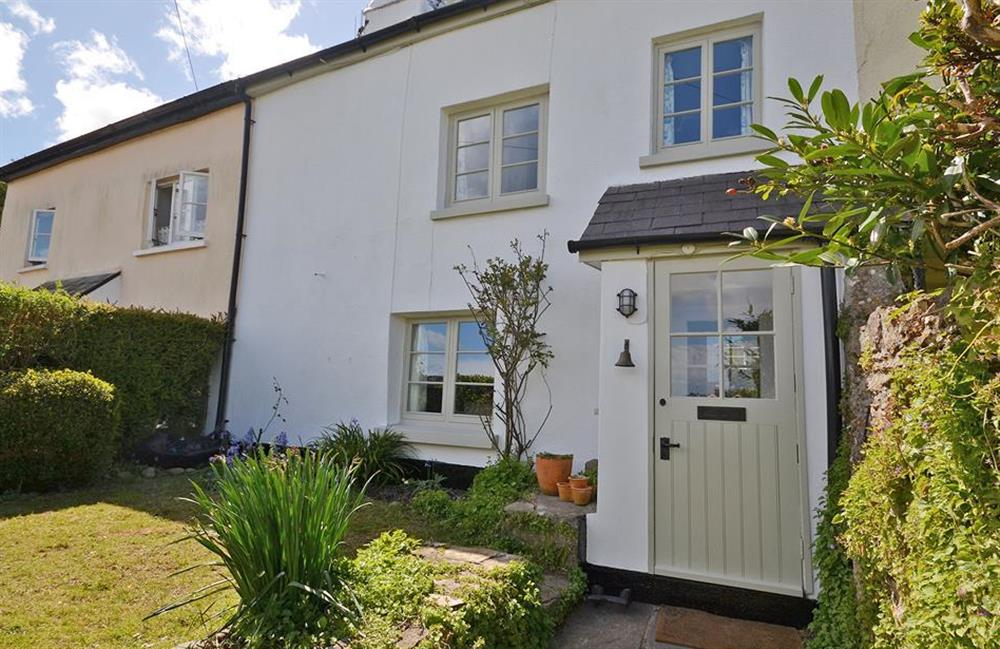 Another view of the exterior at Meadow View Cottage, Dittisham