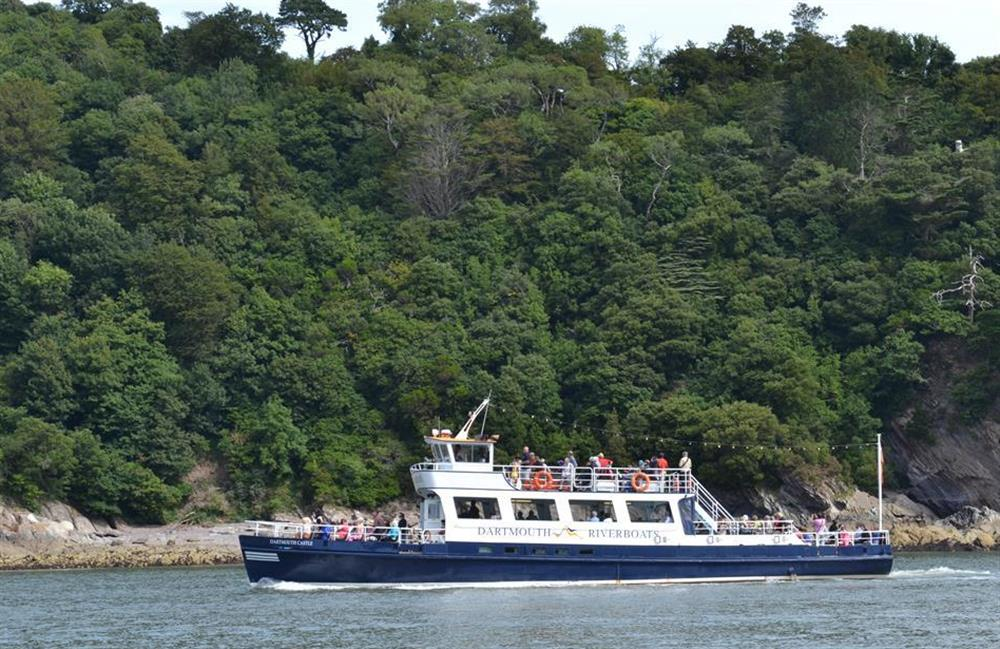 Enjoy a boat trip to Totnes or Dartmouth at Meadow View Cottage, Dittisham