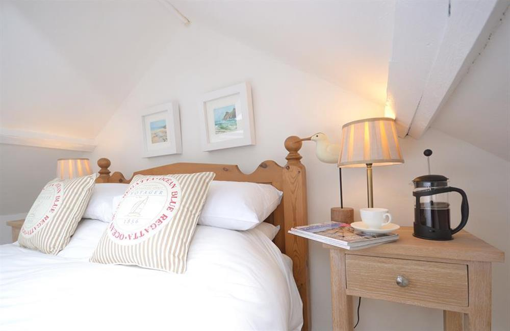 Enjoy morning coffee in bed! at Meadow View Cottage, Dittisham