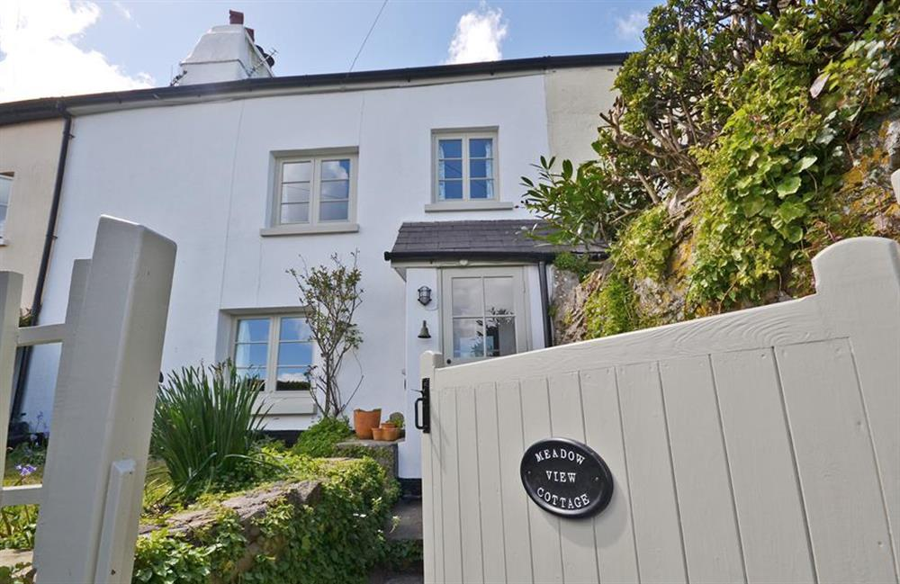 Meadow View Cottage set in the heart of the waterside village of Dittisham at Meadow View Cottage, Dittisham