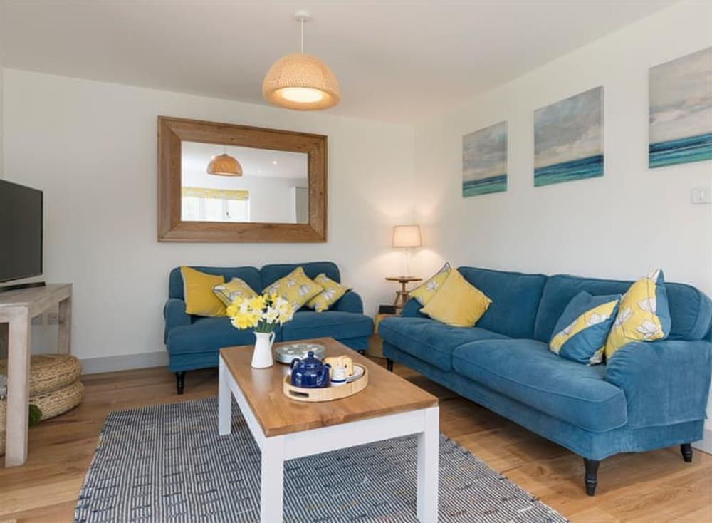 Cosy living area at Meadow View in North Walsham, Norfolk