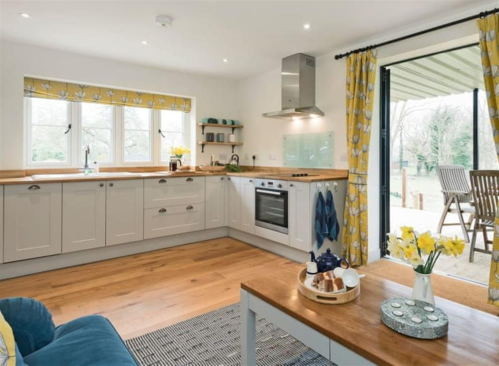Exquisitely presented kitchen area at Meadow View in North Walsham, Norfolk