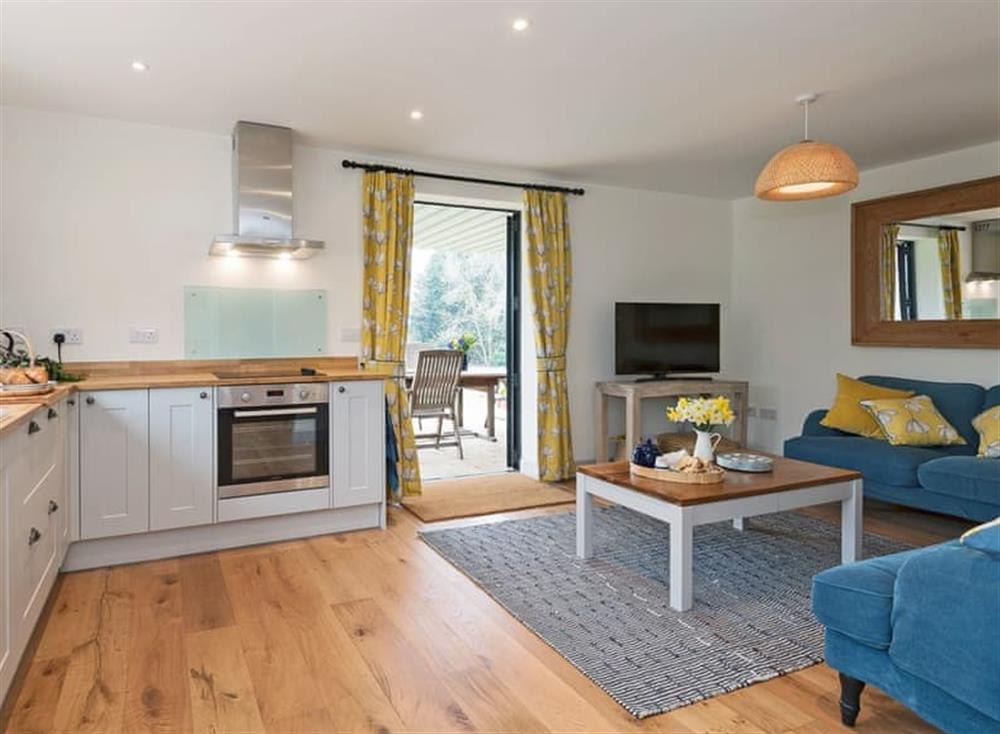 Light and airy open plan living space at Meadow View in North Walsham, Norfolk