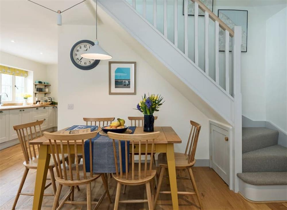 Spacious dining area at Meadow View in North Walsham, Norfolk