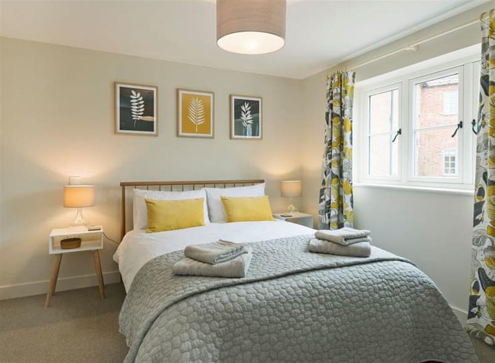 Sumptuous double bedroom at Meadow View in North Walsham, Norfolk