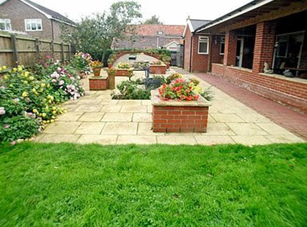 Garden at Meadow View in Stowmarket, Suffolk
