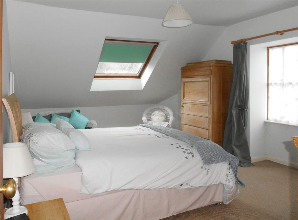 Double bedroom at Meadowsweet Cottage in Kingswear, Nr Dartmouth, South Devon., Great Britain
